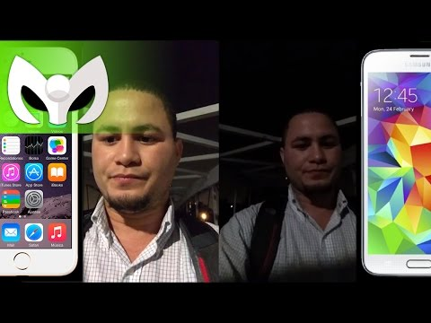 iPhone Plus 6 vs Galaxy S5 (Cámara, Video, Audio, Completo)