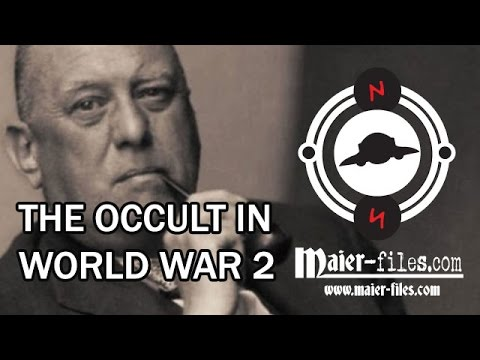 Maier Files - backstory - occult spies in world war 2 - Aleister Crowley - part 1