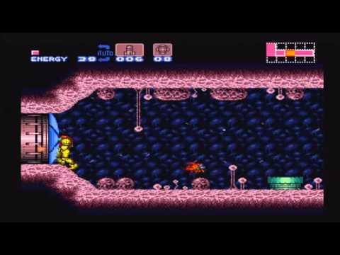 Super Metroid 100% Speed Run w/ Narration Part 1