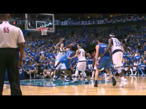 James Harden 29 points (15 in the fourth quarter) vs Dallas Mavericks game 4 NBA Playoffs 2012.05.05