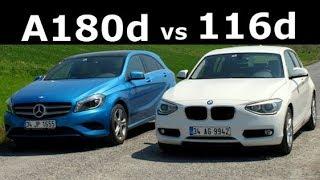 Karşılaştırma - BMW 116d ve Mercedes-Benz A180 CDI