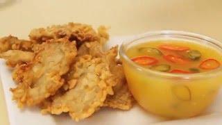 Dapur Umami - Jamur Crispy Saus Jeruk