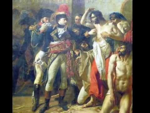 Gros, Napoleon Bonaparte Visiting the Pest House in Jaffa, 1804