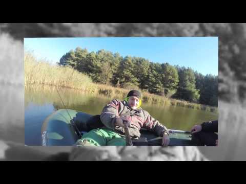 Морозная осенняя рыбалка в Турье