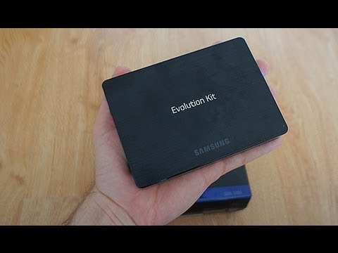 Samsung Evolution Kit - speed test on Samsung ES8000 Smart TV
