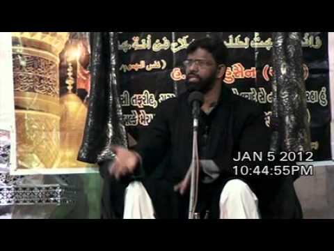 India Maulana Kamran Haider Majlis 10 Asra Muharram/Saffar 1433/2011