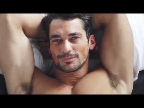In Bed With David Gandy (Marks & Spencer Underwear)