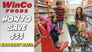 WINCO FOODS GROCERY HAUL | HOW TO SAVE MONEY AT WINCO | GIFT CARD GIVEAWAY | PHILLIPS FamBam