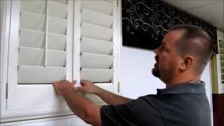 Options for Plantation Wood Shutters