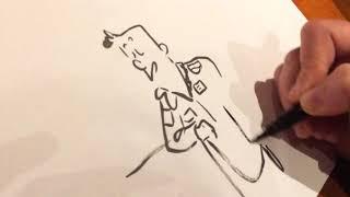 """Comment dessiner """"Dans la combi de Thomas Pesquet"""", la leçon de dessin de Marion Montaigne"""