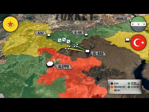 1 ноября 2016. Военная обстановка в Сирии. В Алеппо появились танки Т-90. Русский перевод.