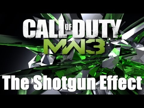 MW3: The Shotgun Effect Explained (SPAS-12 Kill Confirmed)