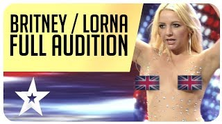 Did Britney Spears really kiss a judge from Britain's Got Talent? Full Audition