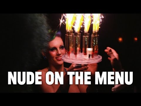 Nude on the Menu: Behind the Flaming Sparklerabra