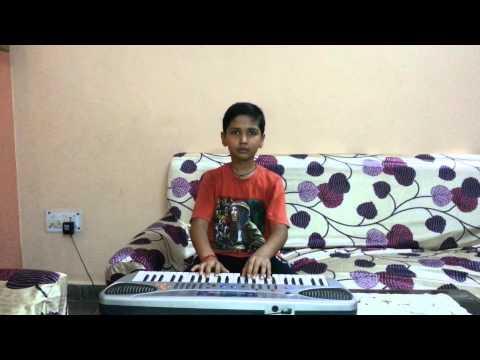 LAKDI KI KATHI  PLAYED ON KEYBOARD BY AKSHAT BHARD