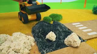 Tayoトラックフィクサー - ロードローラーda! - 子供のためのおもちゃの車のビデオ