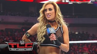 Carmella reveals the identity of Nikki Bella's mystery attacker: WWE TLC 2016