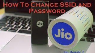 Jio Dongle 2 / JioFI: How To change SSID and Password (macOS)
