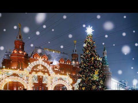 Новогодняя Москва. Гиперлапс & Таймлапс. Hyperlapse & Timelapse Christmas Light, Moscow