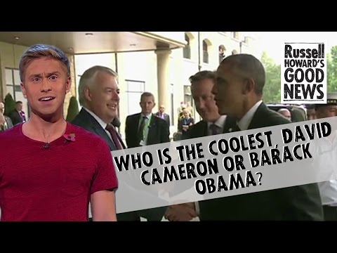 Who is the coolest, David Cameron or Barack Obama?