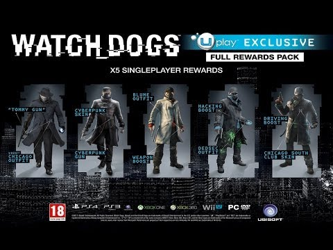 Watch Dogs Editions, Pre Order Bonuses Overview - Gamestop, Best Buy, Amazon, Uplay, PSN