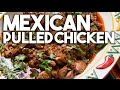 Mexican Pulled Chicken - Made with Guajillo chilli…