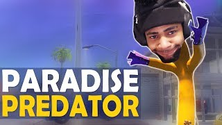 PARADISE PALMS PREDATOR | STEALING CONTENT | FUNNY HIGH KILL GAME -(Fortnite Battle Royale)