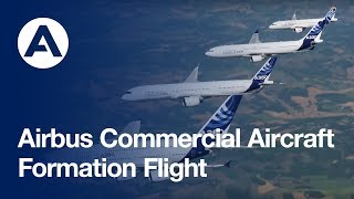 Airbus Commercial Aircraft - Formation Flight