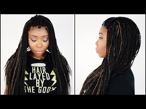 How To Do Senegalese Twist Step By Step On Your Own Hair Tutorial ...