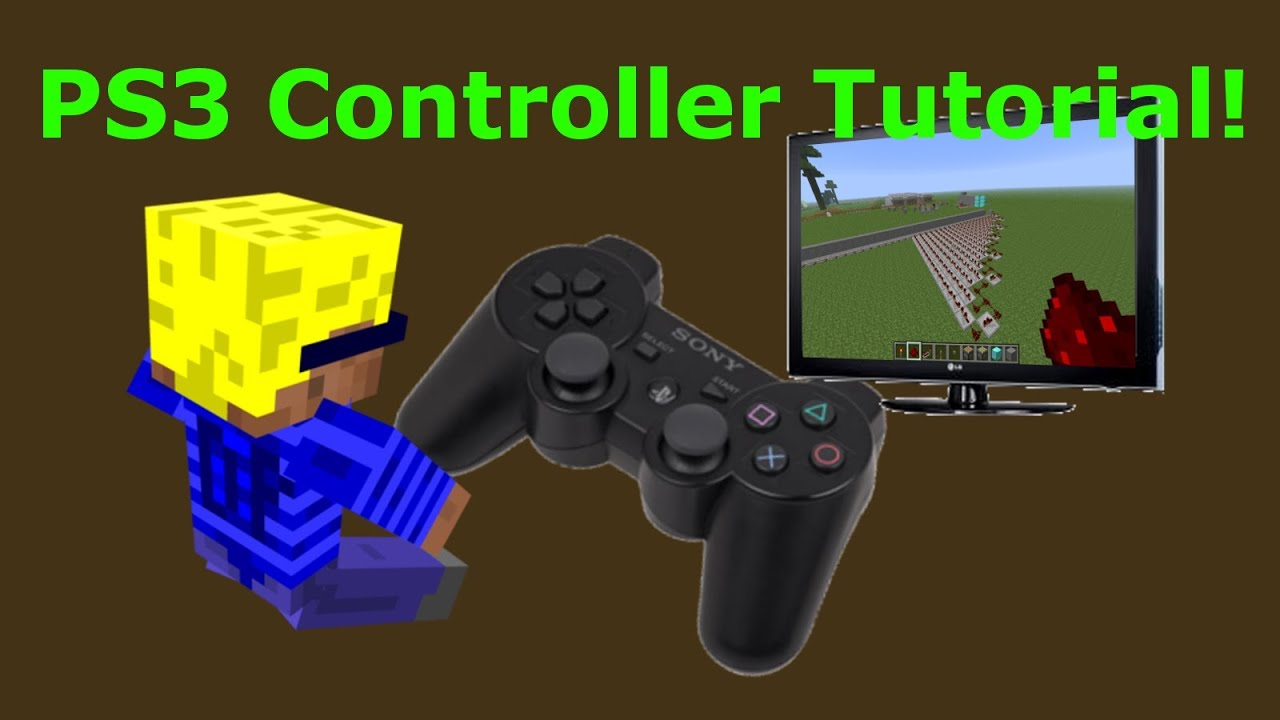 how to build a ps3 controller in minecraft