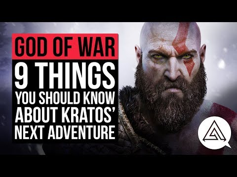 God of War 4 | 9 Things You Should Know About Kratos' Next Adventure thumbnail