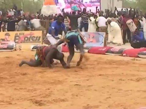 Tournoi coupe du Président de la République DOSSO 2015, nigerlutte.com thumbnail