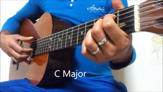 asela with sinhala guitar lesson 14 How Play Duka Haadu Dena Reye With P,I.M.A Way 0768824390