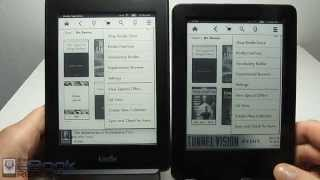 Kindle Paperwhite vs $79 Basic Kindle Touch Comparison Review