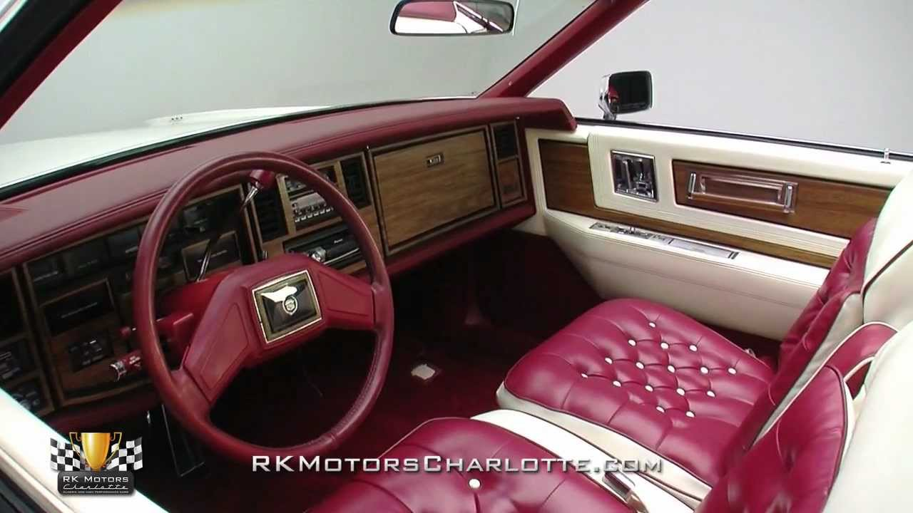 133243 1984 Cadillac Eldorado Biarritz Youtube