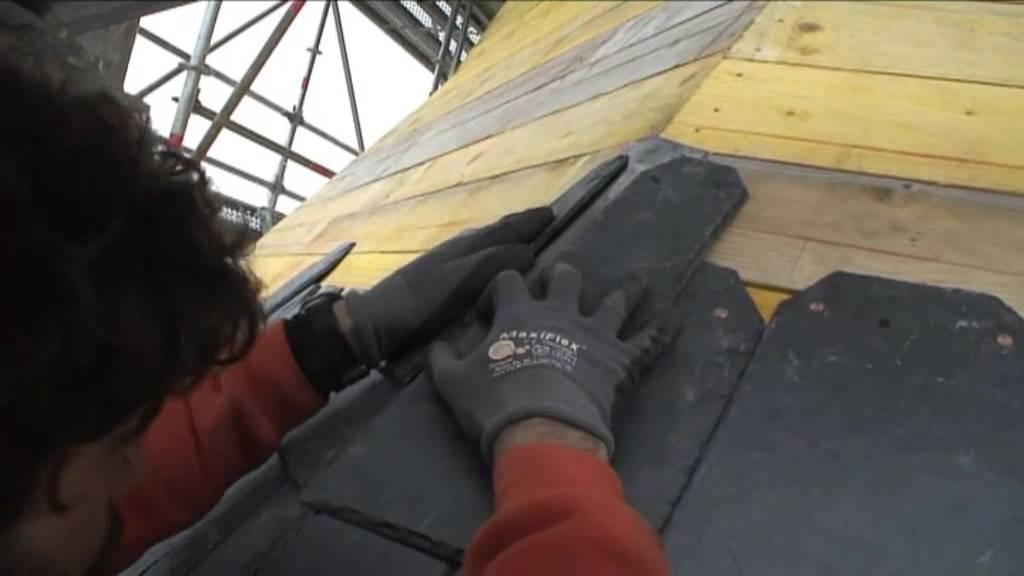 Ardoisiers et ma ons youtube - Poser une toiture en ardoise ...