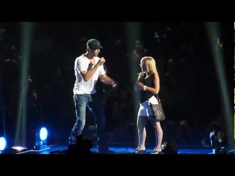 Enrique Iglesias - Hero - Live Concert Minneapolis 2012 video