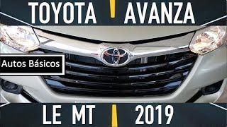 Toyota Avanza 2019 basica
