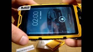 Видео-обзор Land Rover (ALPS) A8 защищенного телефона
