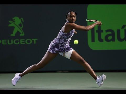 2017 Miami Open Second Round | Venus Williams vs Haddad Maia | WTA Highlights