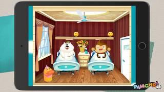 Pamela plays Dr. Panda Hospital - Fun Doctor Game for Kids Children Toddlers - Gameplay