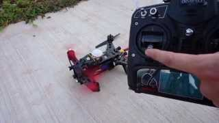 Walkera Runner 250 FPV Racer RTF - Enabling Throttle Fail Safe