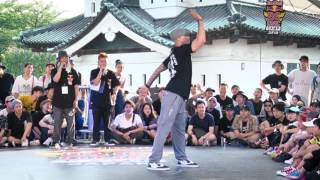 Jr boogaloo(USA) Judge Move | SAMURAI WORLD FINAL 2017.07.02 | Red Bull BC One Camp Japan 2017