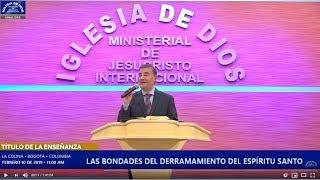 Enseñanza: Las bondades del derramamiento del Espíritu Santo, Hno Carlos Alberto Baena