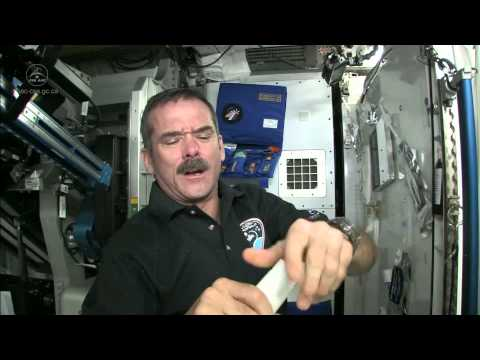 How Do Astronauts Shave in Space? | CSA Science Full HD Video