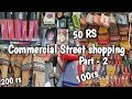 Commercial Street Bangalore Shopping -Part-2|Comm street shopping guide\haul