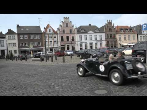 Pollution Police Pfadfinder unterstützen die Oldtimer Rallye