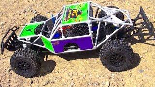 RC ADVENTURES - Traxxas Slash 4x4 SPEED TEST w/ D4DFab MK 12 Cage Durability Test Series 1