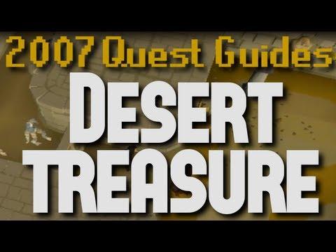 Runescape 2007 Quest Guides: Desert Treasure