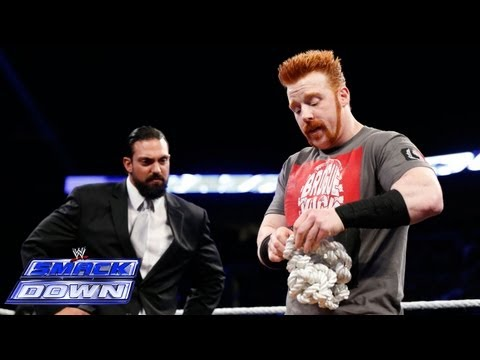 Sheamus answers Damien Sandow's